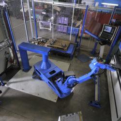 Cellule robotisée 85T - Lg 2,2 m